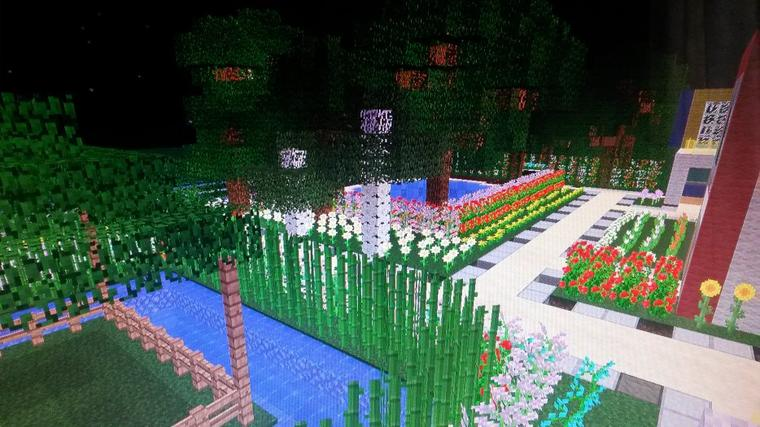 Emejing Beau Jardin Minecraft Ideas - Antoniogarcia.info ...