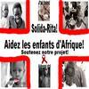 Un vie difficile pour les enfants d'Afrique.   Vote pour nous!