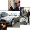 SILVIO BERLUSCONI (1er Ministre de l'Italie).........ROULE / AIT EN ......................MASERATI Quattroporte