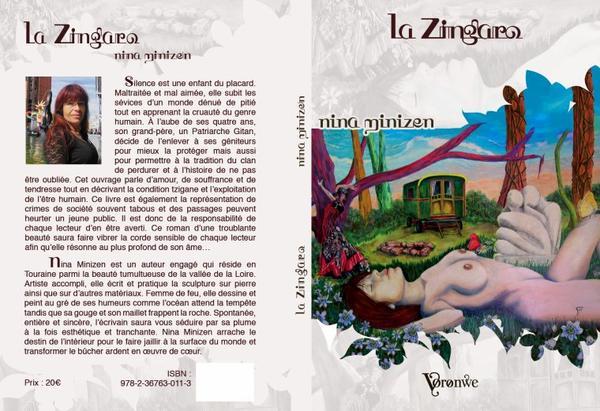 EDITION MONDIALE DE LA ZINGARO DE NINA MINIZEN   !