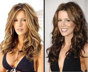 blonde ou brune?