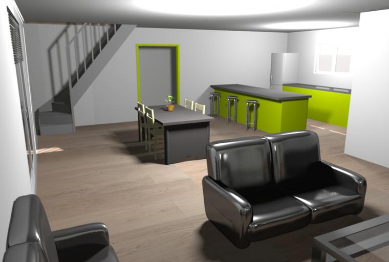Blog de notre maison 2o12 corps de ferme en auto for Sweet home 3d modele maison