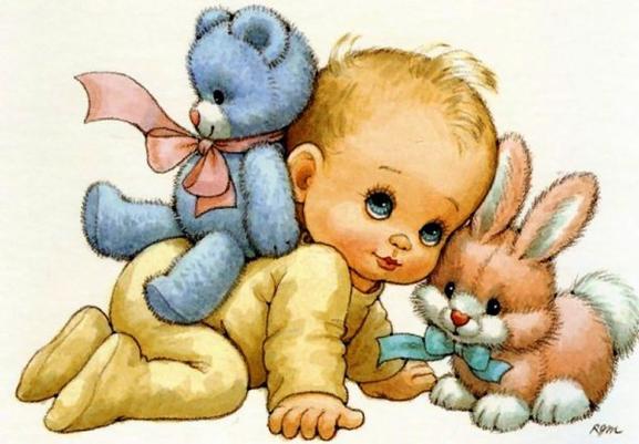 Ruth Morehead .... les bébés ....