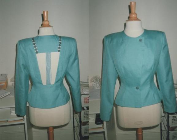 Veste tailleur  original .......