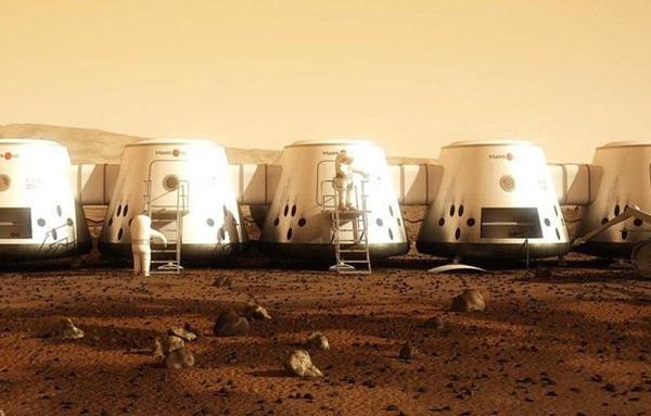 Une émission de télé réalité sur Mars !