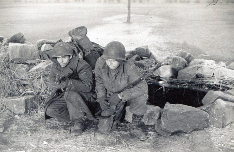 Herb Jahn. 70th Gambsheim, December 1944.