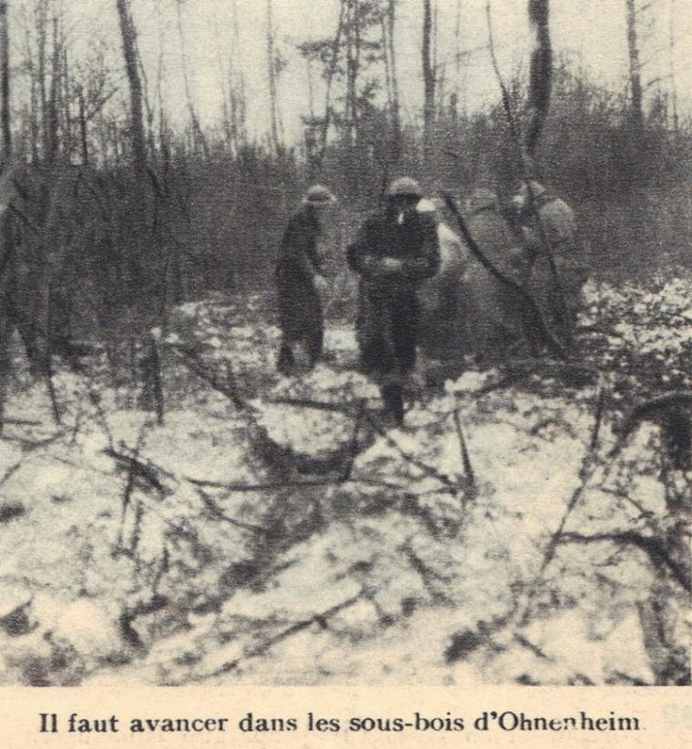 Alsace 1945 photo non classé lieu inconnu