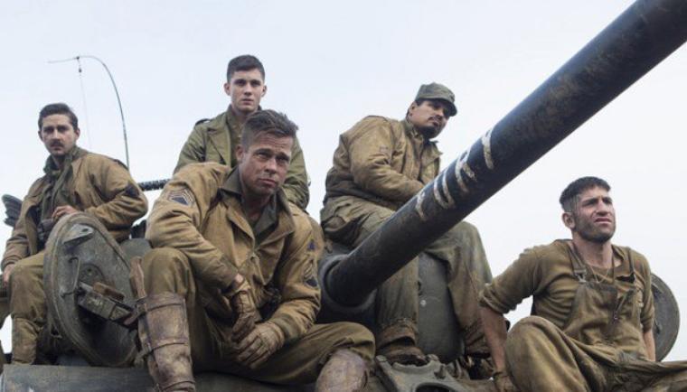 """""""Fury"""" avec Brad Pitt : immersion réussie (et éprouvante) dans l'horreur de la guerre"""