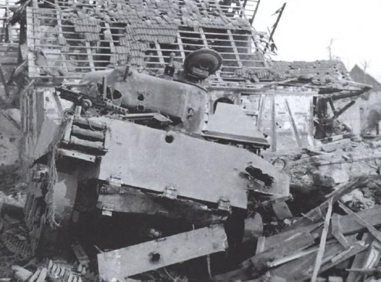 Rittershoffen / Hatten, janvier 1945