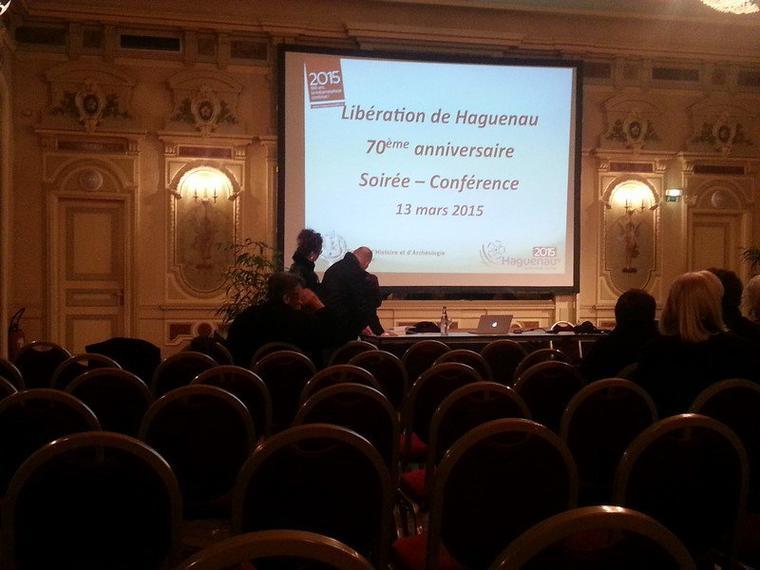 70ème anniversaire de la Libération – Conférence