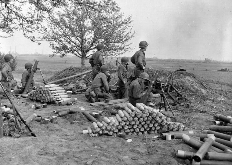 Le mortier de 81mm