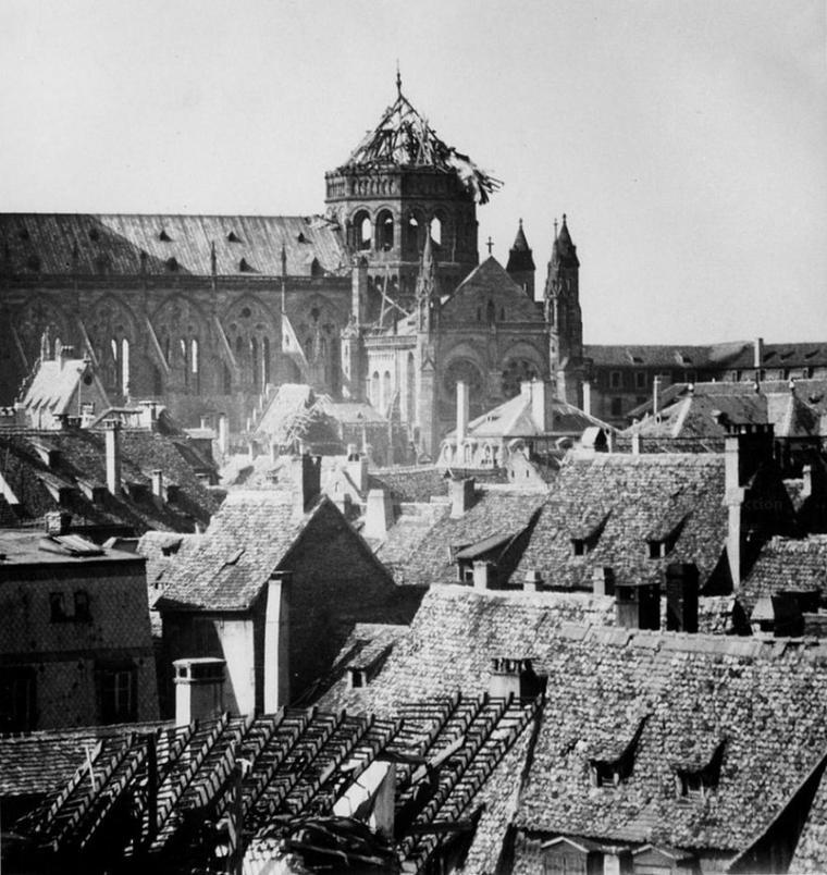 1944.08.11 Degats tour Klotz