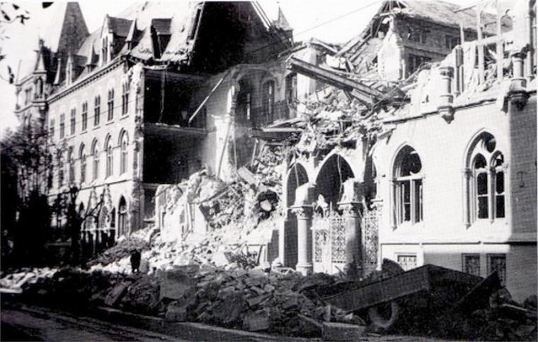 POSTE CENTRALE 1943