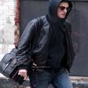 Robert Pattinson smoking