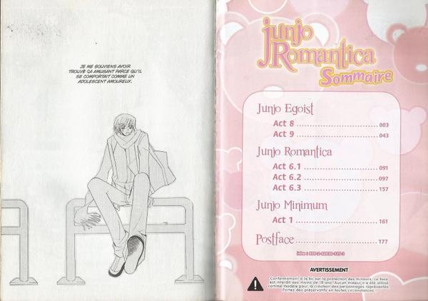Junjou Romantica Tome 4-1
