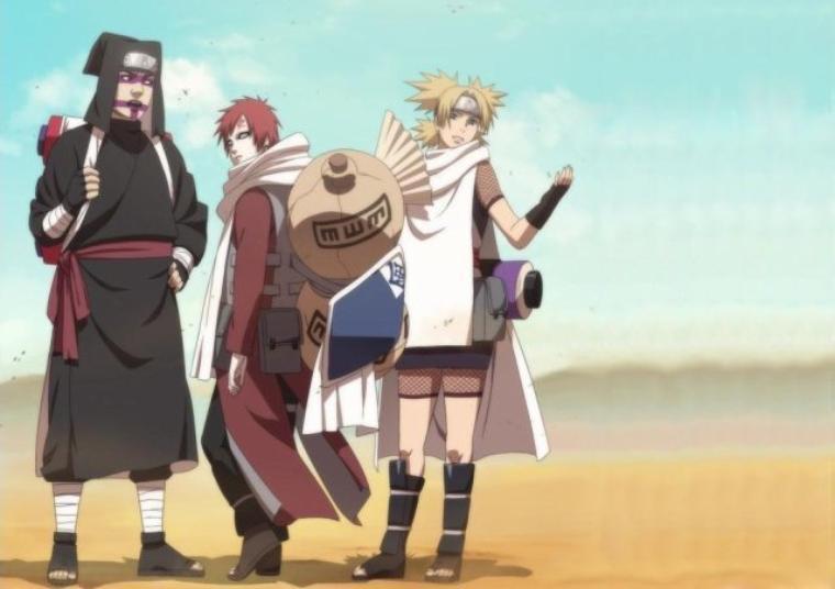 Les trois ninjas de suna kank ro gaara temari je n 39 aurais jamais pris le risque de te - Naruto pour les adultes ...