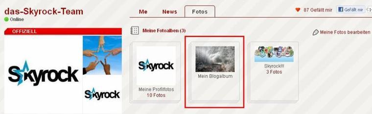 BLOG & PROFIL: Neues Fotoalbum für dein Profil!