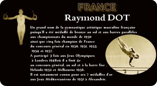 De grands noms de la gymnastique, français et internationaux, qui se sont illustrés aux jeux olympiques ou dans leur carrière gymnique avant 1964... ainsi que quelques exceptions...
