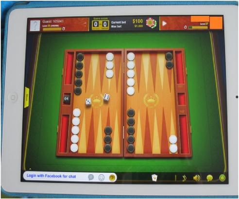 Application: Backgammon (Pour Ipad )