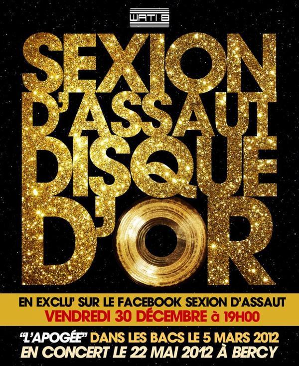 DISQUE D'OR --- 2éme EXTRAIT DE L'APOGEE --- VENDREDI 30 DECEMBRE A 19H