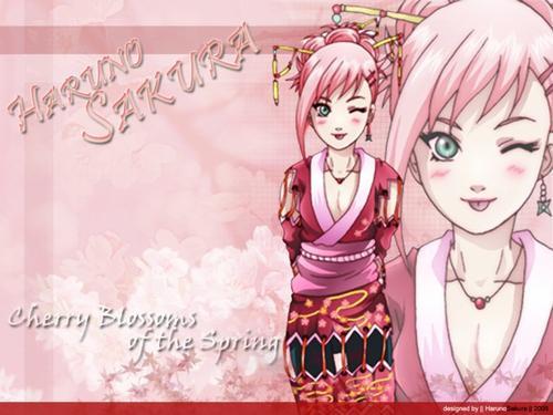 """Sakura Haruno - """"Fédération-Mangas"""""""