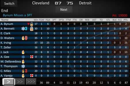 Basketball Dynasty Manager 14 ! - Le Test Android/Iphone