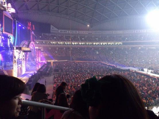 2013年1月13日- Concert de Arashi, OU le plus beau jour de ma vie.