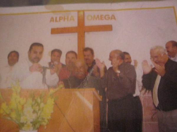mon mari ninio avec tous les ancien pasteur