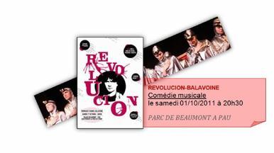 REVOLUCION-BALAVOINE A PAU le 01 Octobre 2011