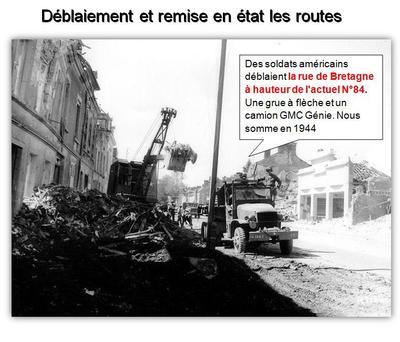85 de la rue de Bretagne - Maison Natale de Balavoine, Guerre et libération ( Partie 2 & fin)