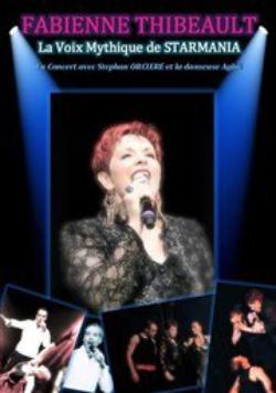Fabienne Thibeault - La voix mythique de STARMANIA le 18 Avril 2015 à Nîmes (30)