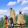 Naruto Captain yamato et Kakashi