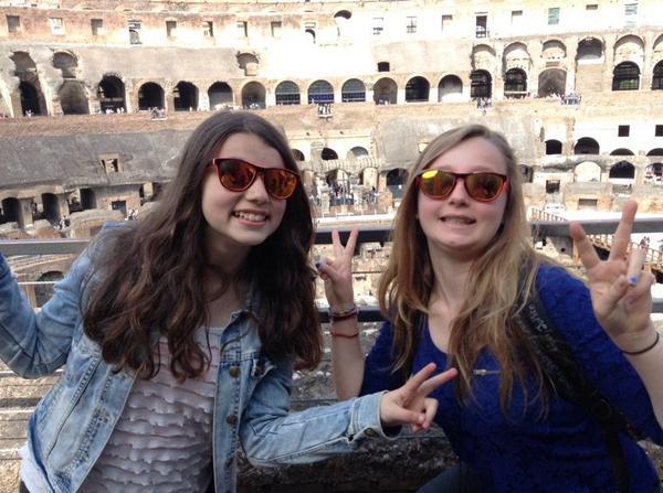 Super voyage en Italie avk toi!!