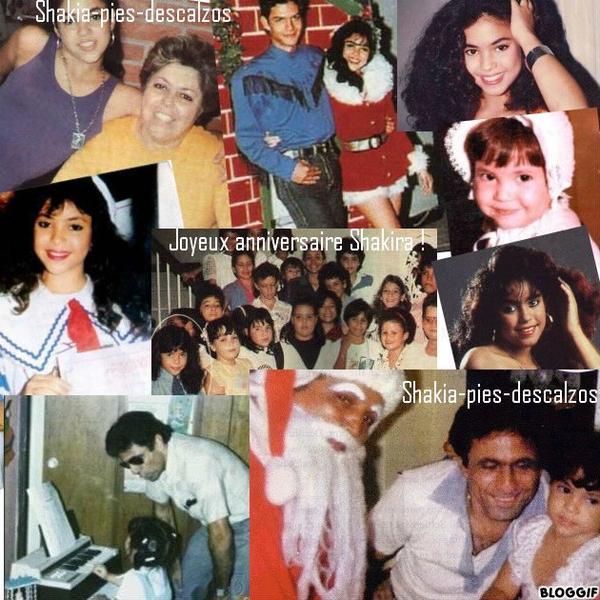 Joyeux anniversaire Shakira ! 35 ans née le 2 février 1977 a 10h08 du matin