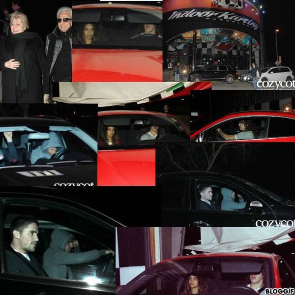 Les invités et Les parents de Shakira et Gérard en photo lors de leur annniversaire