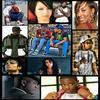 Orelsan, Nana Osaki, Keri Hilson, Booba, Sefyu, New boyz, Lil wayne, Michael Jackson,  Amy Winehouse, Ne-Yo and Soulja boy.