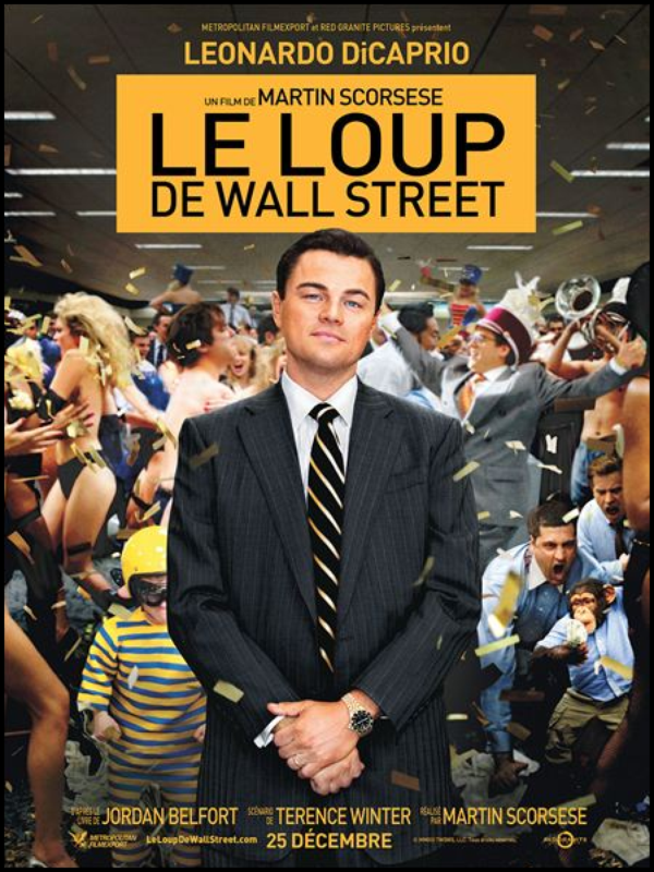 "CINEMA/CULTURE : Le loup de Wall Street  ""Epoustoufflant, Enorme, Magistral"""