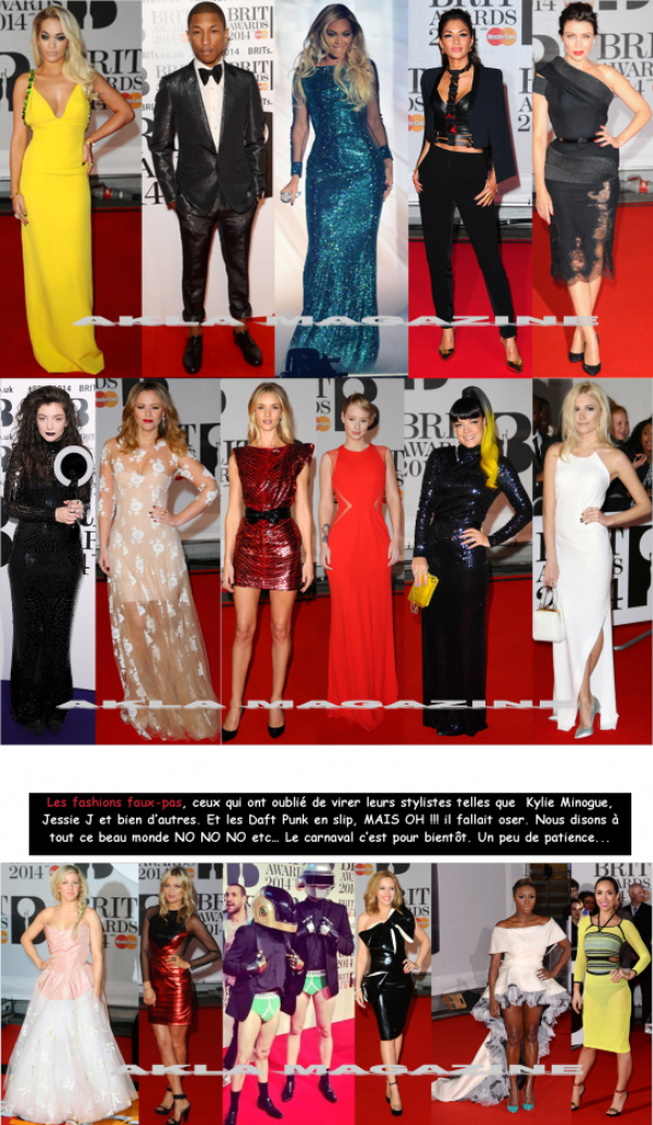 CULTURE/MUSIQUE/Brit Awards 2014