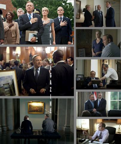 "CULTURE/TELEVISION : House of Cards, ""Machiavel à Washington"", ""The"" série"