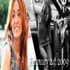 Miley dans une nouvelle audi cabriolet à Hollywood !!