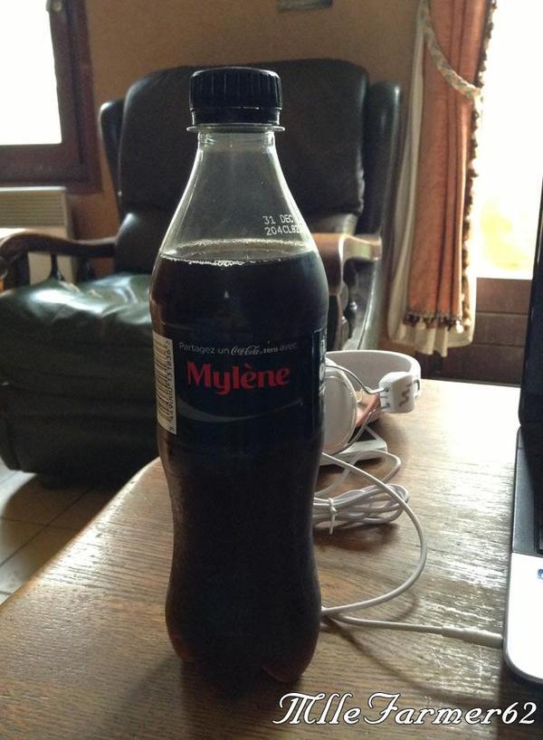Ma bouteille Coca Cola