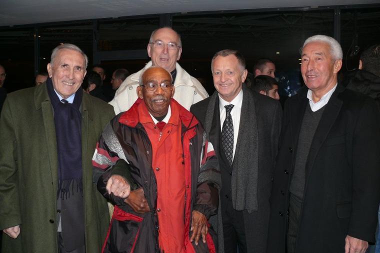 Exposition 60 ans Olympique Lyonnais Vernissage