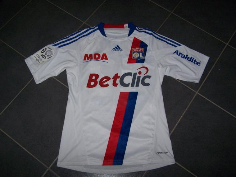 Maillot OL 2010-2011 domicile