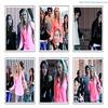 Miley, sa famille & ses amis à Santa Monica, le 28 décembre.
