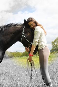 Si mon cheval et moi tombions aidez le en premier, s'il ne se relève pas, laissez moi. ღ