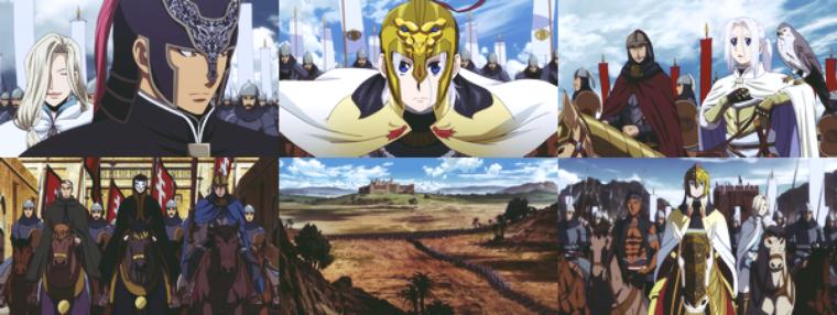 Arslan Senki / The Heroic Legend of Arslan