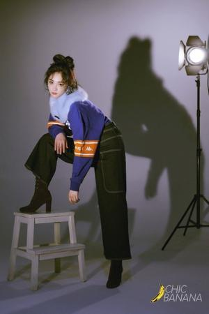 Photoshoot de Kyulkyung pour le magazine chinois 香蕉街拍ChicBanana !(Partie 1)