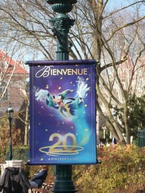 Disneyland - affiches des 20 ans