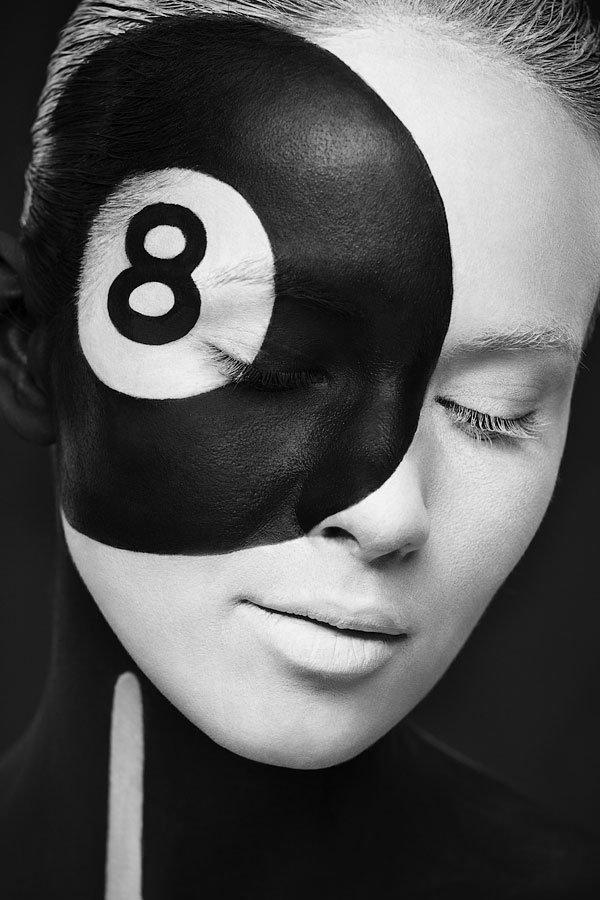 Valeriya Kutsan : 2D or not 2D ? les magnifiques visages maquillés