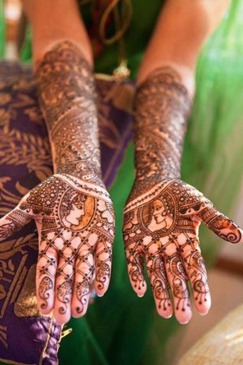 Tatouages Mehndi
